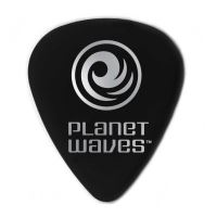Celuloid Guitar Pick Planet Waves 1CBK6 1.00mm Heavy