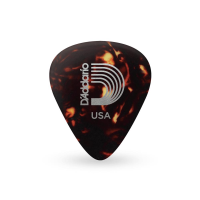 Celuloid Guitar Pick Planet Waves 1CSH2 0.50mm Light
