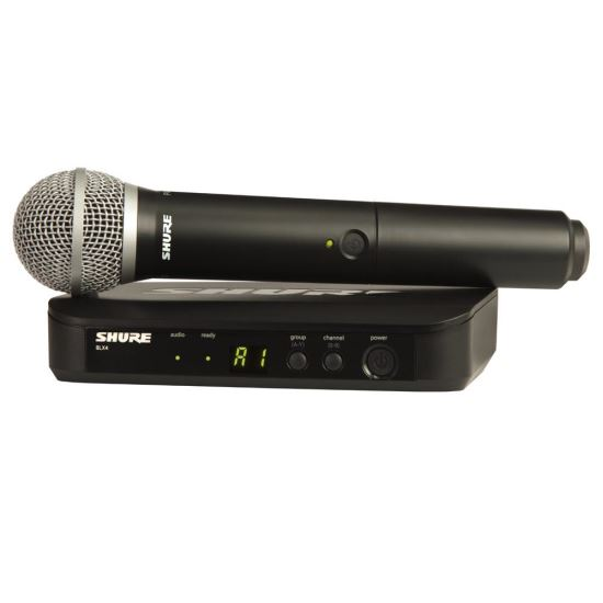 Microfon Wireless Shure BLX24/PG58